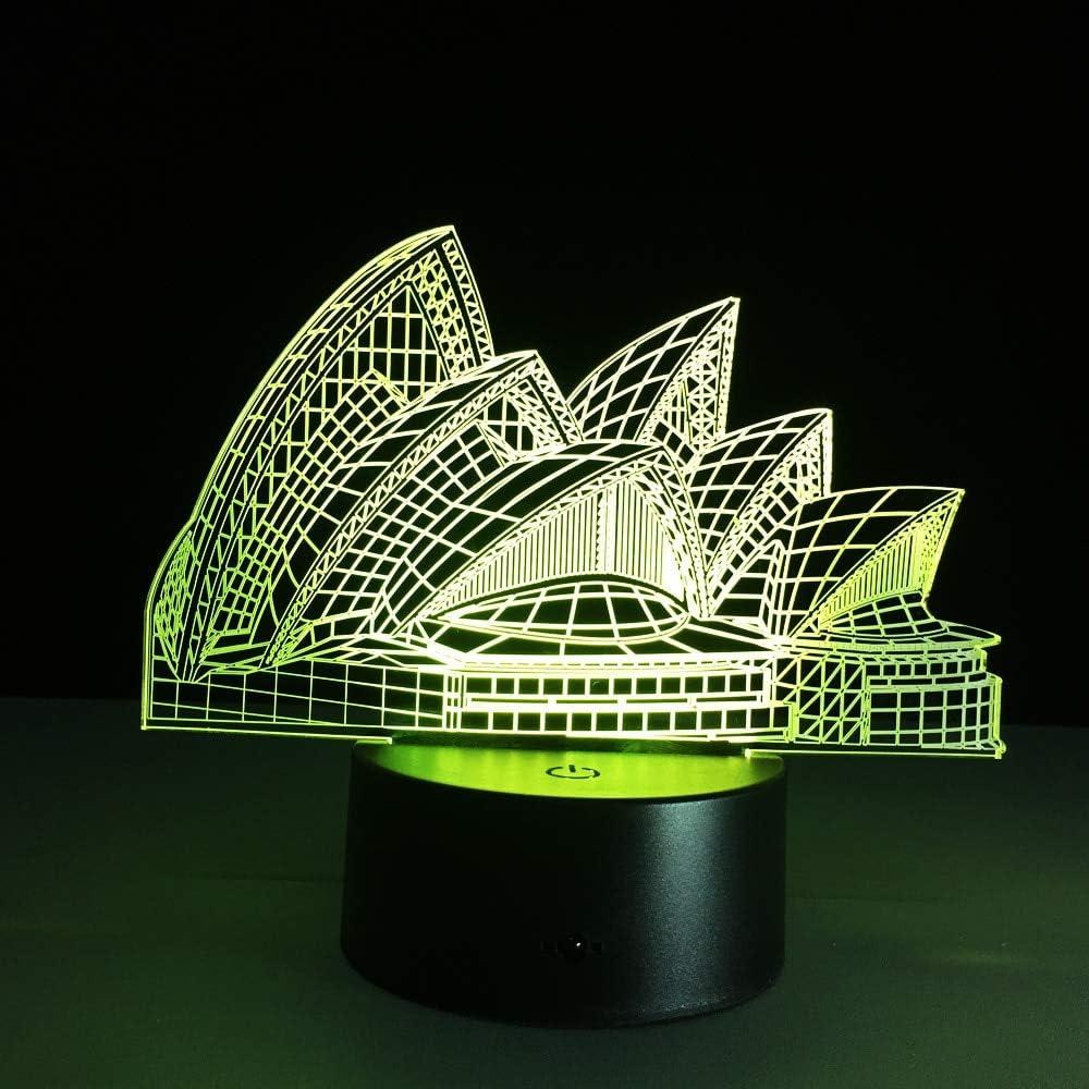 Bombilla de luz de Noche Interior Que Cambia de Color Luz de Regalo de Novedad Australiana