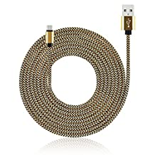 MIVINE 10Ft Braided USB Type C Cable, USB Type C to USB A Charging Cord Sync Data Cable for Google Pixel XL, Moto Z, ZTE Axon Max, MacBook, Nokia N1, Nexus 6P 5X, LG G5 V20 HTC 10 and More