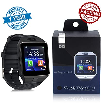 Arg Health Care Dz09 Smartwatch With Bluetooth Dialer Touchscreen
