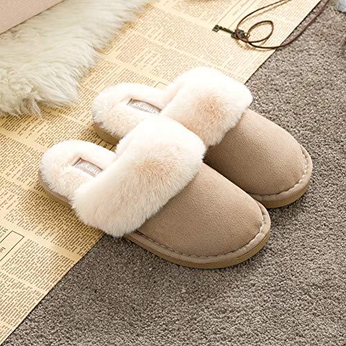 Z joyee Slippers Khaki Foam Memory Comfy Clog House Women's 6fwf1x