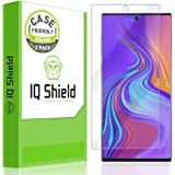 IQ Shield Screen Protector Compatible with Samsung Galaxy Note 10 (6.3 inch Display)(2-Pack)(Case Friendly) Anti-Bubble Clear Film