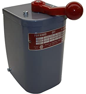 2 hp - 3 hp electric motor reversing drum switch - position = maintained #  rs