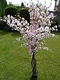 5 'Artificial Tree - Rosa artificiale Blossom Tree (Prunus serrulata) - 1.7m Pianta artificiale in un vaso