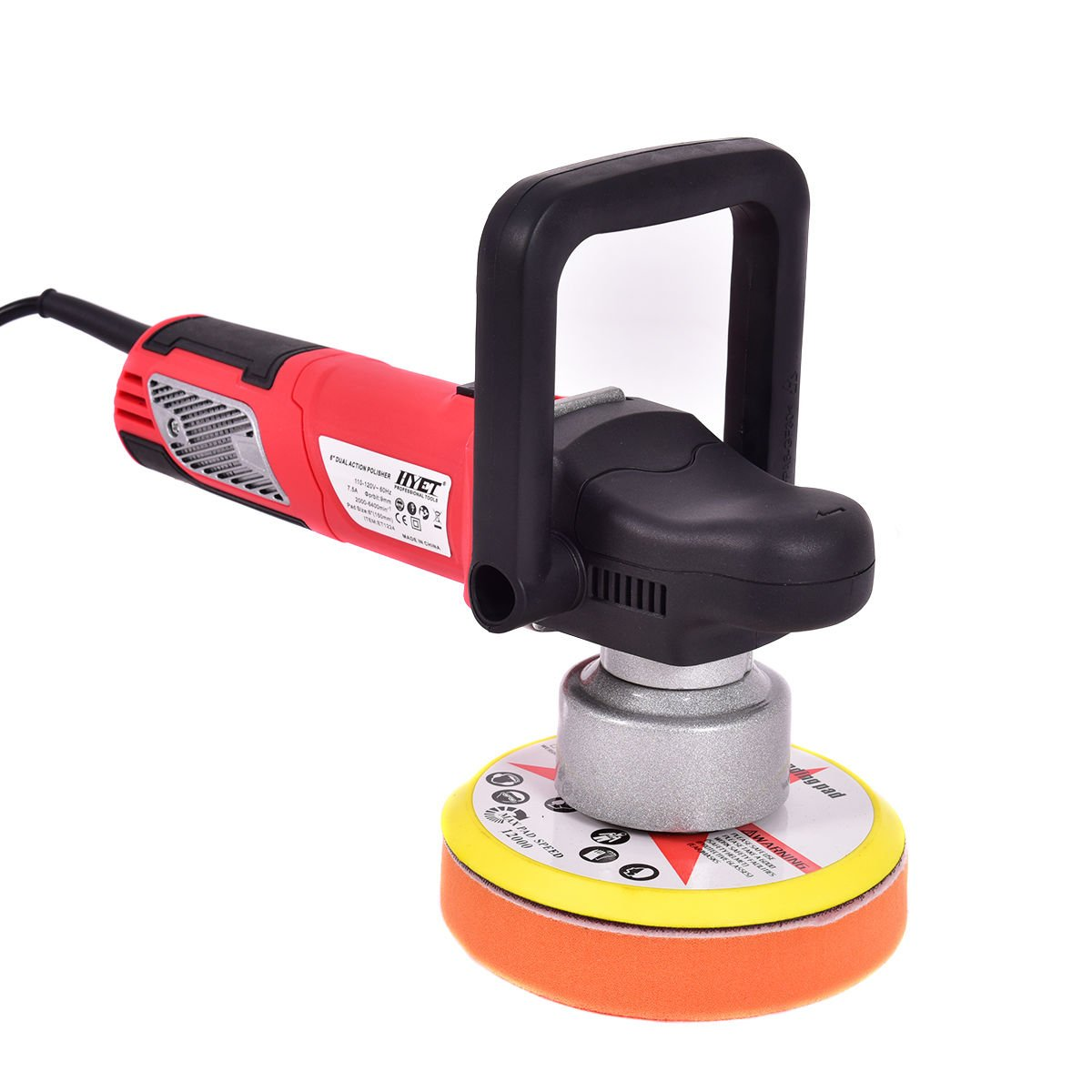 6'' Variable Speed Dual-Action Polisher Random Orbital Polisher Kit Auto Detail,NEW by Jikkolumlukka