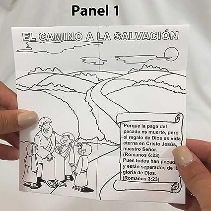 Amazon com: Spanish Gospel Tracts for Children, Origami Endless Loop