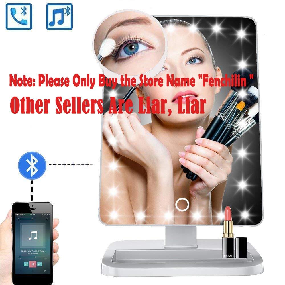 Amazon Com Makeup Mirror 20 Led Lights Cosmetic Mirror