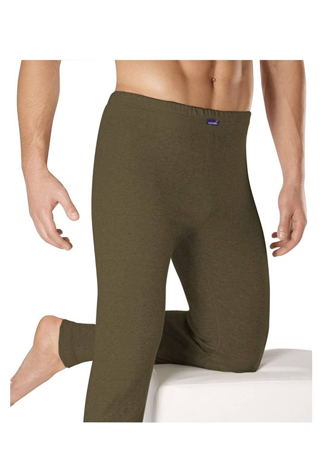 Ceceba 10028 Thermo Function Long John 4er Pack - Navy, Grey Melange, Olive - M bis 2XL