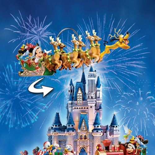Disney Tabletop Christmas Tree: The Wonderful World Of Disney by The Bradford Exchange by Bradford Exchange (Image #1)