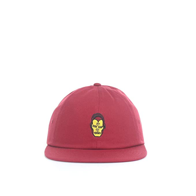 bc05b71c Vans x Marvel Jockey Strapback Hat (Chili Pepper) Men's Marvel Comics Cap