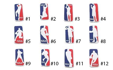 Parches bordados de baloncesto con el logo del club de fans de la ...