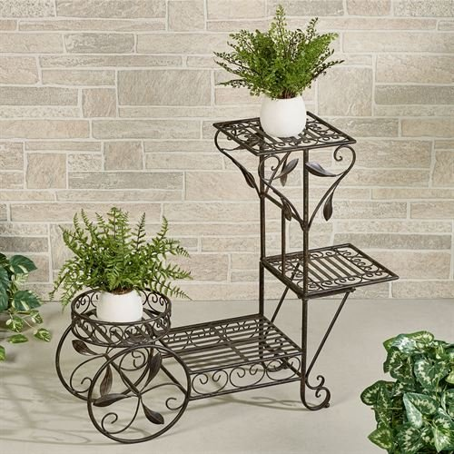 Touch Of Class Tuin Four Tier Plant Stand Dark Bronze By Touch Of Class