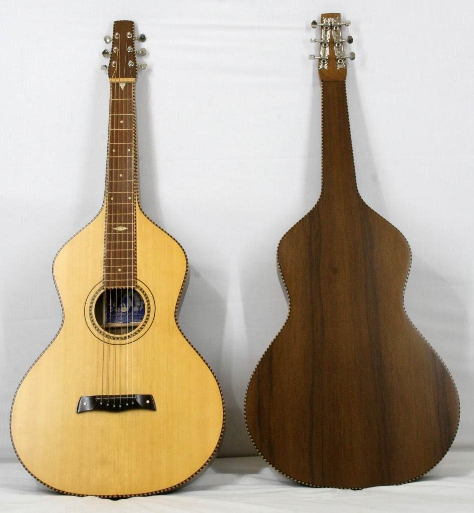 Musikalia - Guitarra Hawaiian Lap de acero inoxidable, color ...