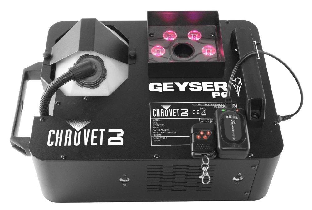 Chauvet DJ DJ GEYSERT6 Geyser T6 Fog Machine, 2 2 Chauvet Lighting