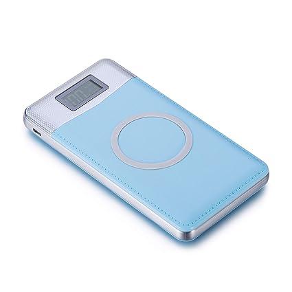 Amazon.com: Cargador de batería portátil Qi inalámbrico de ...