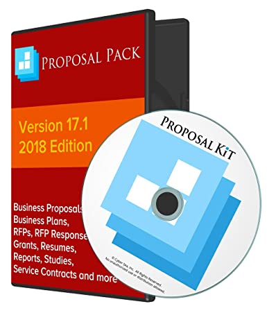 Amazon Proposal Pack For Government Grants Business Proposals