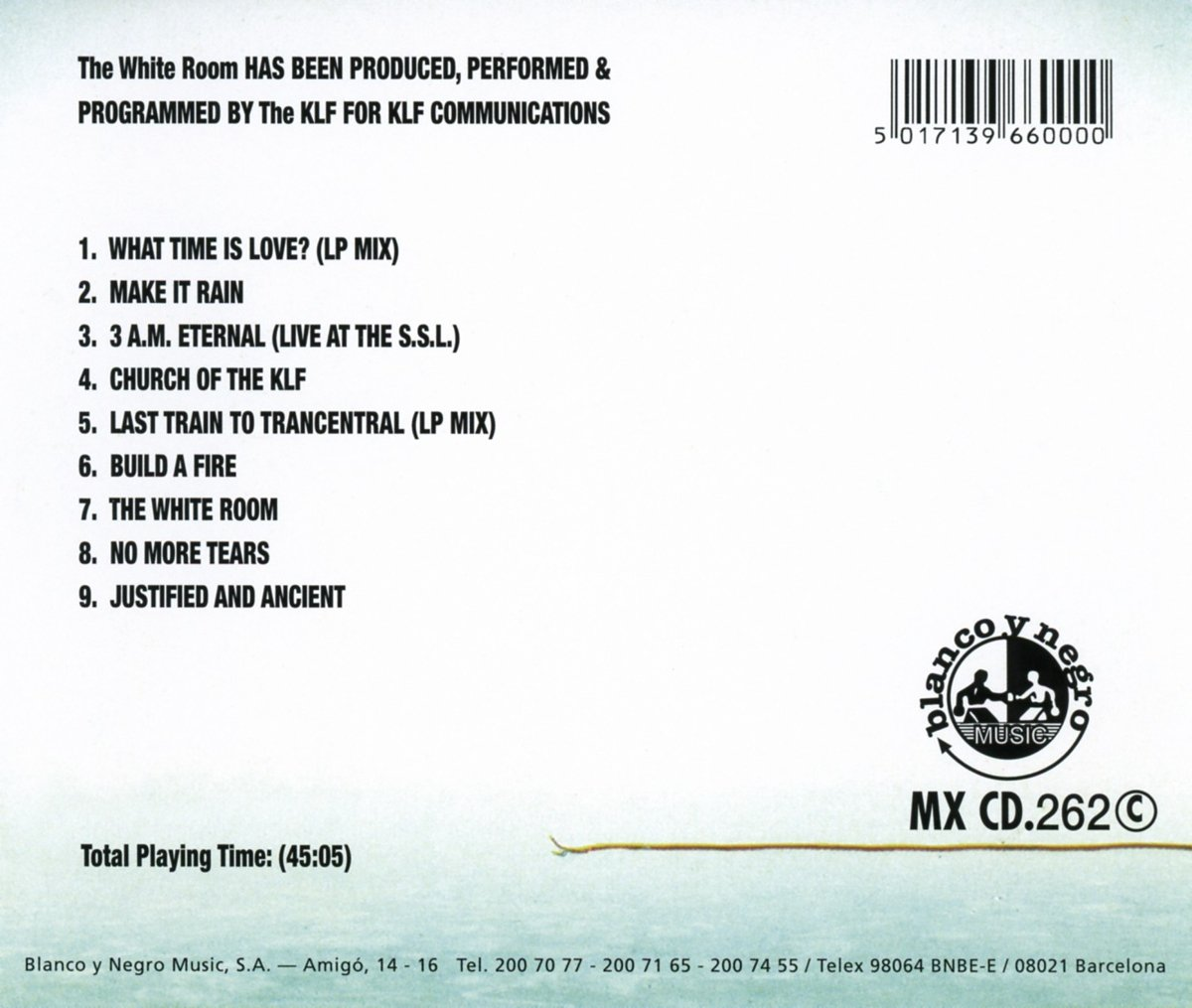 The Klf - The White Room - Amazon.com Music