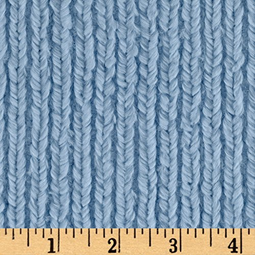 - Shannon Fabrics Minky Luxe Cuddle Chenille Fabric by The Yard, Baby Blue