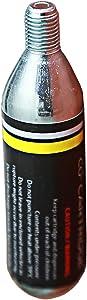 Jetsream-Cycling 20 x 16g Bike Threaded CO2 Cartridges | 16 Gram C02 Cartridge Threaded for All co2 Bike Tire Inflators | Refill co2 Cylinder Fits Bike CO2 Pump |CO2 Cartridges 16g Threaded