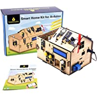 KEYESTUDIO IOT Starter Kit for Arduino R3, Electronics Coding Home Automation Kit DIY for Internet of Things, Wooden…
