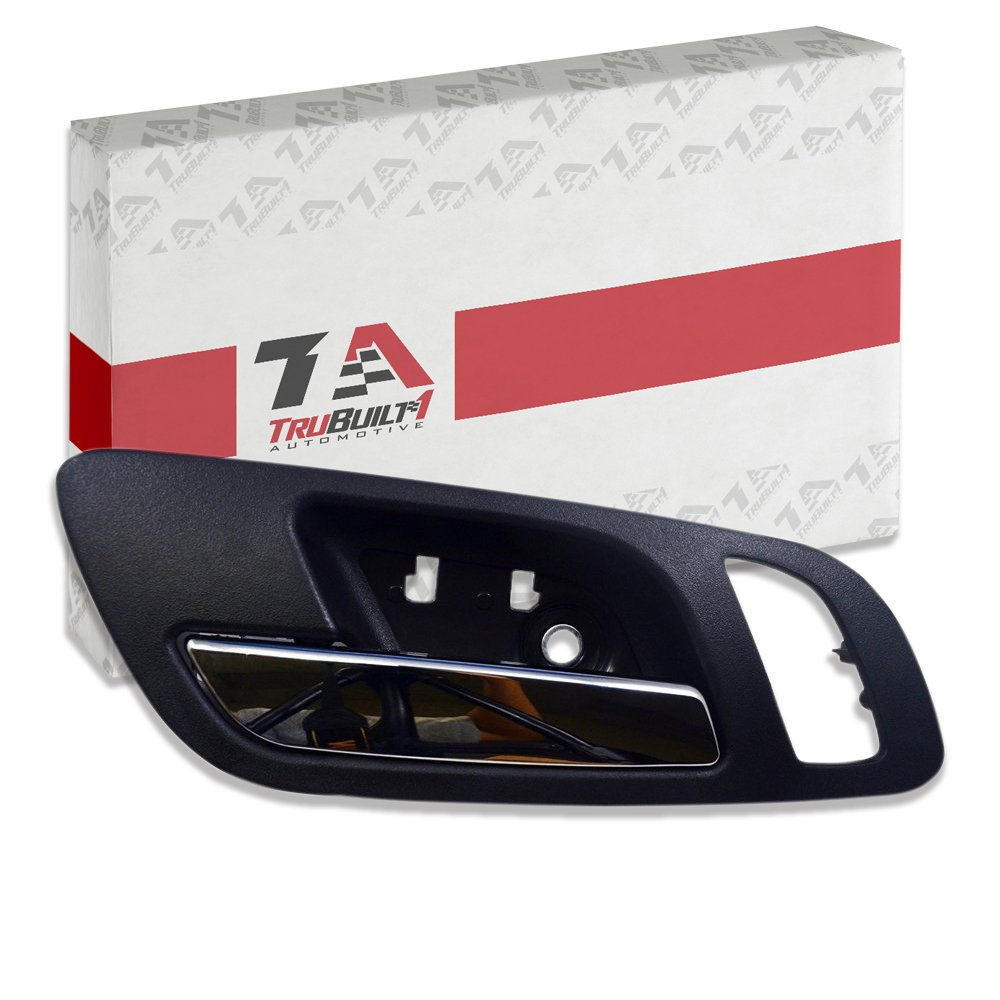 Suburban Avalanche GMC Sierra and Yukon Also Fits Chevy Silverado Fits Front Left Drivers Side Black Color T1A-15935951 Fits Front Left Driver/'s Side TruBuilt 1 Automotive T1A 2007-2011 Cadillac Escalade Interior Door Handle Replacement
