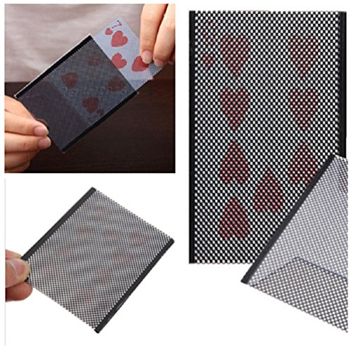 (New Popular Card Vanish Illusion Change Sleeve Close-Up Street Magic Trick - One item w/Random Color and Design)