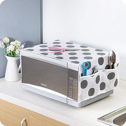 Aolvo - Funda para microondas y microondas, con 2 bolsas de almacenamiento a prueba de