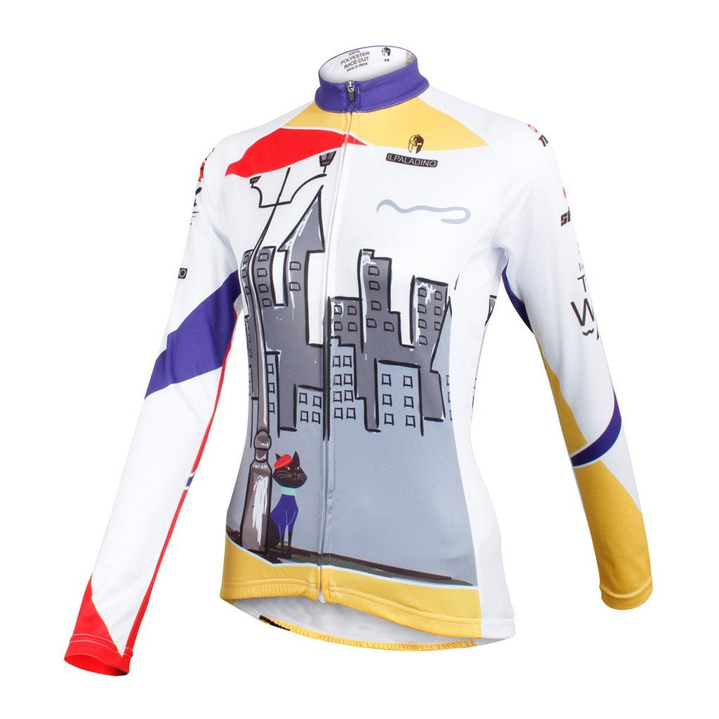f4eab9b50 Amazon.com  QinYing Women s Cycling Jersey Bike Bicycle Jersey Full Zip  Sportswear  Clothing