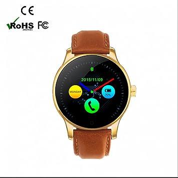 Reloj inteligente Deportivo Reloj Deportivo con Pulsómetro,Recordatorio sedentario,Control de Sueño,Telephoto