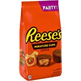 Reese's, Halloween Candy, Milk Chocolate Peanut Butter Cup Miniatures Party Bag, 35.6 oz