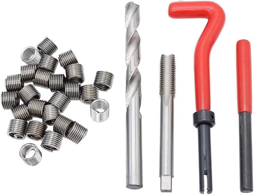 Gewinde Hengda Gewindereparaturwerkzeuge Gewinde Reparatur Satz 88 TLG I M6,M10,M12 I Gewindebohrer Spiralbohrer Innen