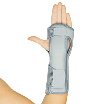 Vive Night Wrist Splint Brace - Left & Right Hand Sleep Support Wrap - Cushion Compression