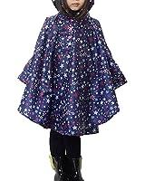 unisex enfant manteau imperm able cape ponchos de pluie avec capuche chauves souris. Black Bedroom Furniture Sets. Home Design Ideas