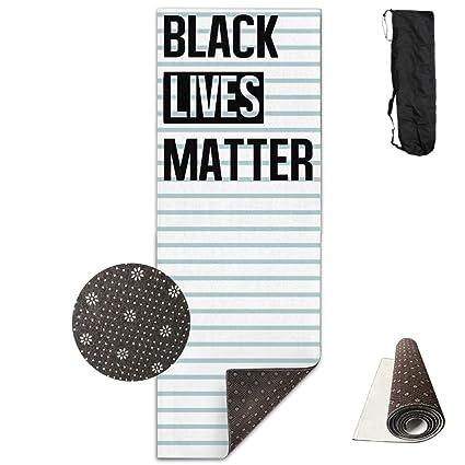 Amazon.com : Black Lives Matter (2) Yoga Mat Towel For ...