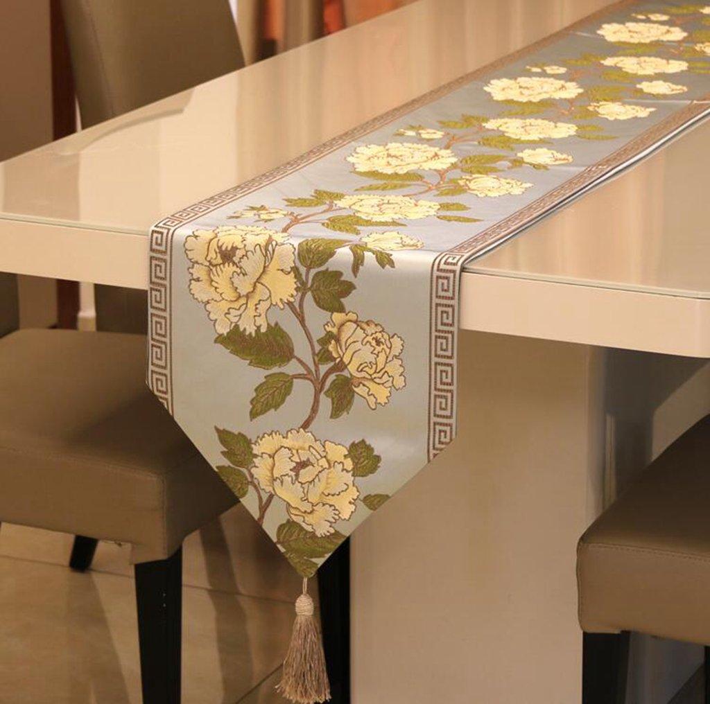 Kaxima Ricamo, stoffa, bandiera da tavolo, ristorante, decorazione del soggiorno 32210cm