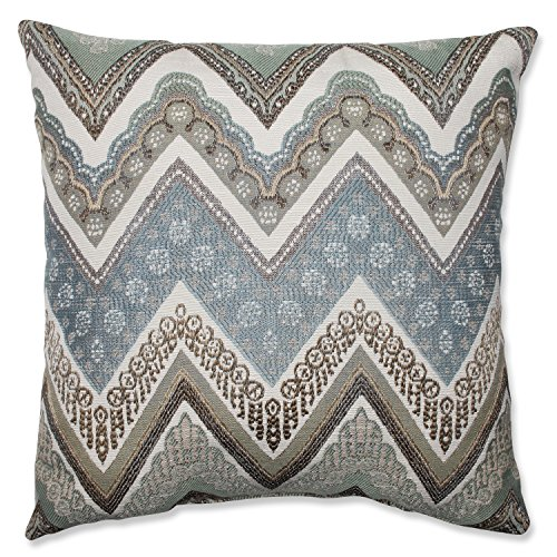 picture of Pillow Perfect Cottage Throw Pillow, 16.5-Inch, Mineral