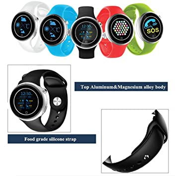 El estúpido® 2016 Bluetooth reloj inteligente C5 deporte podómetro ...