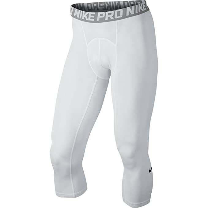 bede93d88234f Amazon.com : NIKE Men's Pro 3/4 Tights : Clothing
