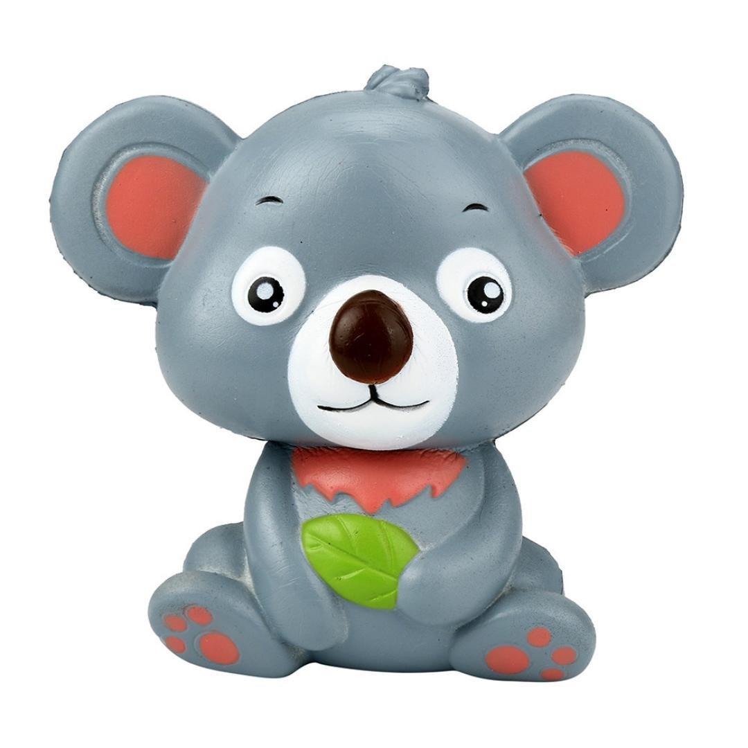 vicgrey 2018 Nuovo 12 cm Carino Koala Crema Aromatizzato Peluche lento aumento Spremere Bambino giocattolo regalo Koala Bear pizzico pressione decompressione giocattolo lento rimbalzo PU Toy