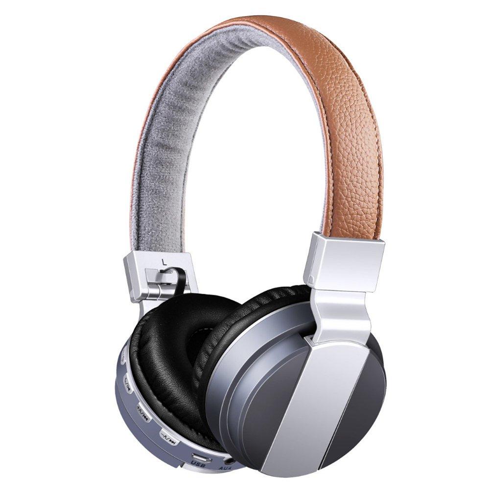 Auriculares Diadema con Micrófono y Bluetooth  Auricular Inalámbricos con Sonido Estereo