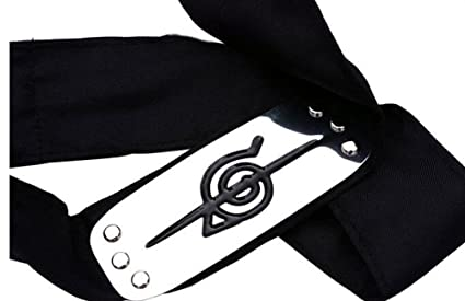 Diadema touirch Anime Naruto Leaf Village Metal Logo Cosplay ...