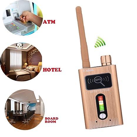 WINNES Detector de cámara Oculta Profesional inalámbrico de Alta sensibilidad Anti espía RF señal Detector de