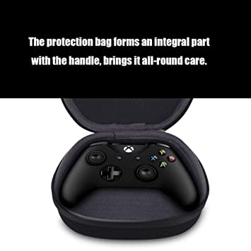ACHICOO Portable Travel Carrying Controller Hard Shell Box Holder Protective Storage Gamepad Pack for Xbox One/Xbox/One Slim/Xbox/One X/Xbox 360