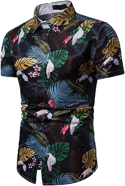 RDHOPE-Men Botton Front Slim Printed Stripe Light Weight Western Shirt