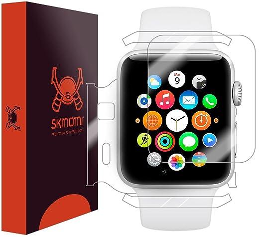 3 opinioni per Skinomi TechSkin- pellicola protettiva per Apple Watch 42mm Series 2 & Series 3