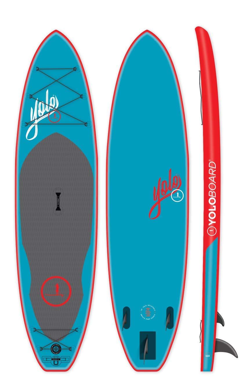 Amazon.com: YOLO Board - Tabla hinchable para remo de 11.0 ...