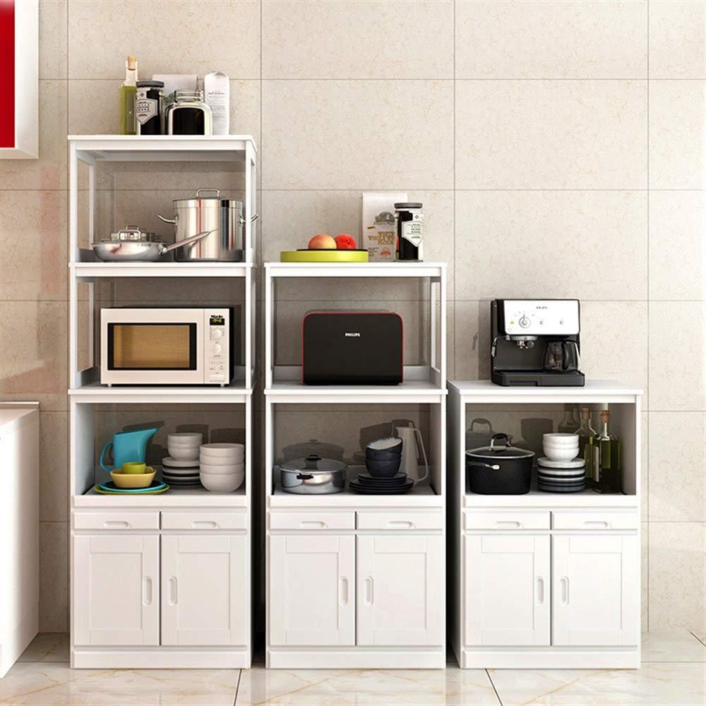 Amazon Com Ychoice Rack Decor Solid Wood Microwave Cabinets Simple