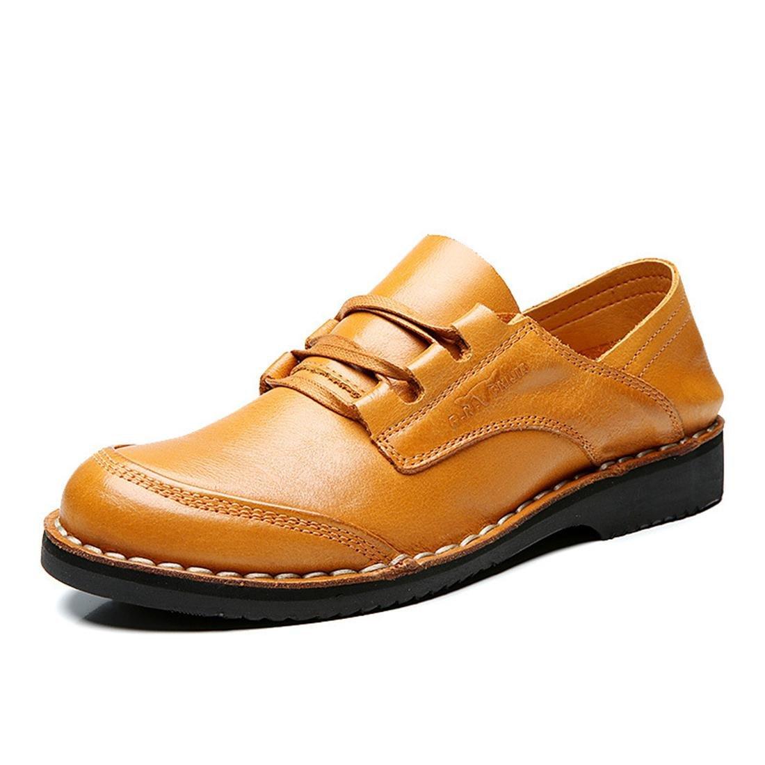 Herren Mode Lederschuhe Lässige Schuhe Licht Gemütlich Freizeitschuhe Flache Flache Flache Schuhe Rutschfest Atmungsaktiv Lazy Schuhe EUR GRÖSSE 38-44 54ea15