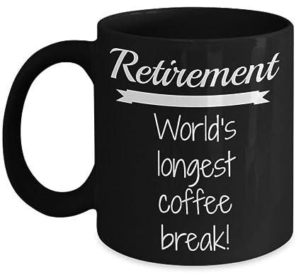 Amazon.com: Retired Humor Mug (15 oz)\\ Retirement - World\'s ...