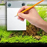 Waterproof Notepad - Mountable to-do Shower Notebook with Recyclable Paper - Erasable Writing Slate Works with Any Pen or Pencil - Fun pad for Doodling, Drawing in Shower - Suction Cups Included
