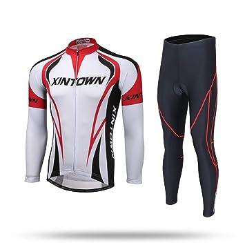Unkoo Camisa ciclista de manga larga para hombre MTB ...